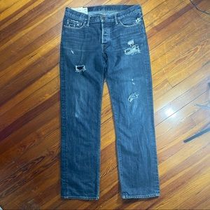 Abercrombie & Fitch Jeans - Abercrombie Men's Classic Straight Jeans 34 x 34